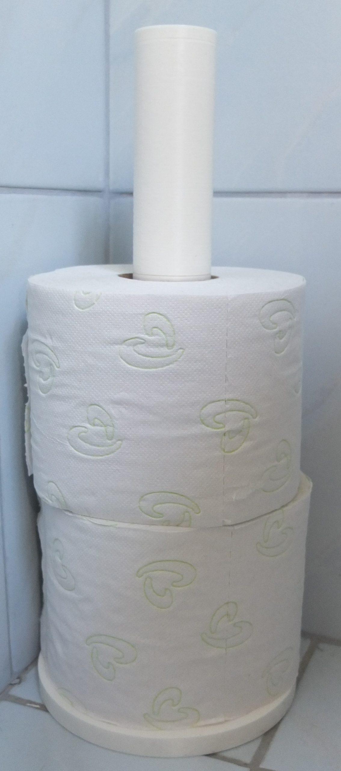 Toilettenpapierhalter - 3D-Druck Hauder